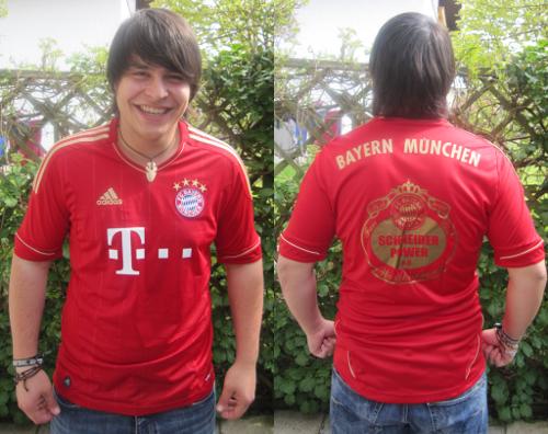 Trikot FC Bayern München Schneider Power Fanclub